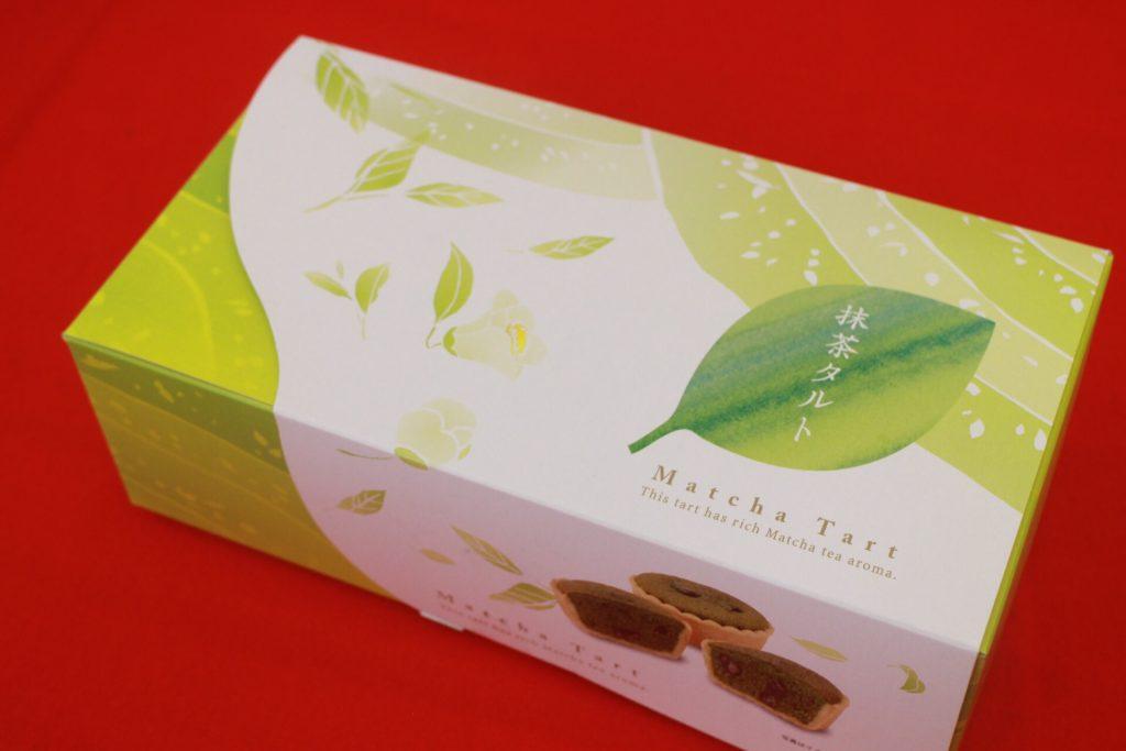 新商品の抹茶タルト