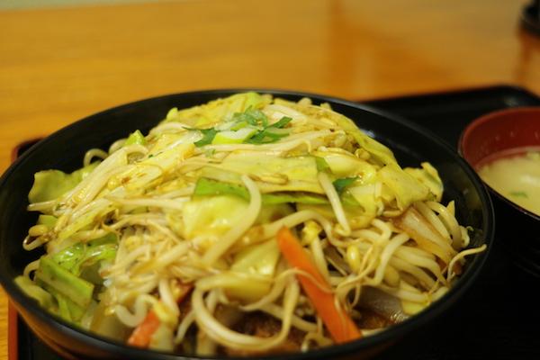 三池食堂 ソースカツ丼