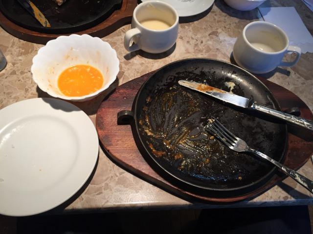 食い終わりの写真はしっかり撮りましたw