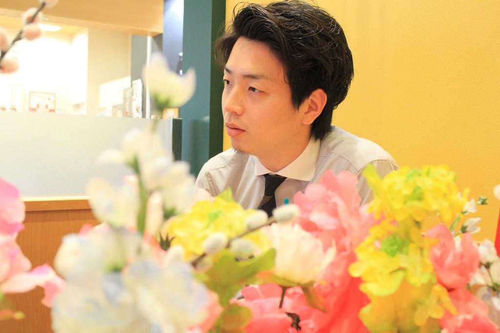 花の似合う男