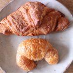 「まるきパン」の「メロンパン、メロンクロワッサン」【大牟田グルメ】