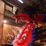三区八劍神社の大蛇山製作現場にお伺いしました!【2016年大蛇山】