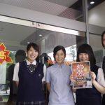 おおむた花火大会まで後4日!当日ステージでダンスを踊る「大牟田高校チアガール」の皆さんにインタビューしてきました!