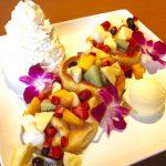 【2017年閉店】『DOUBLE RAINBOW CAFE』のハワイアンパンケーキと絶品ランチ(大牟田市岩本新町)