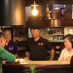『ハンバーグの店 志摩』さんが「アサデス。」さんに取材を受けられました!撮影の様子をご紹介。29日7時台にて放送予定