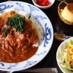 【閉店】おおむたご当地グルメスタンプラリー「洋風カツ丼」『西洋膳所たかの』