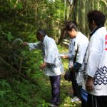 大蛇山に使われる竹の切り出し、安全祈願祭の様子を取材【大蛇山制作現場】