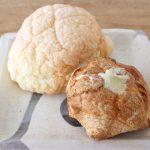 「まるきパン」の夏季限定メニュー『アイスメロンパン、アイスプチシュー』【大牟田グルメ】