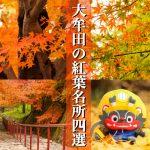 【大牟田観光情報】紅葉名所・秋のインスタ映えスポットをまとめました!